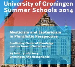 esotericism mysticism summer course University of Groningen 2014