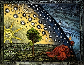 Flammarion woodcut altered