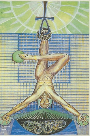 the-hanged-man-Thoth-Tarot