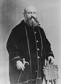 Alphonse-Louis Constant, the Catholic traditionalist and radical socialist - a.k.a. Eliphas Lévi, the founder of modern occultism.