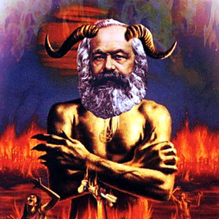 Image result for marx and satan